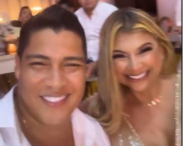 Rafa Perez y Milagros Villamil cumpleaños